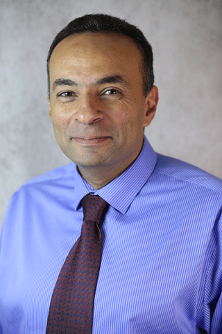 Dr. Habib smiling